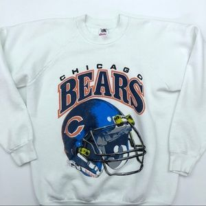 Vintage Chicago Bears Crewneck Sweater Size XL